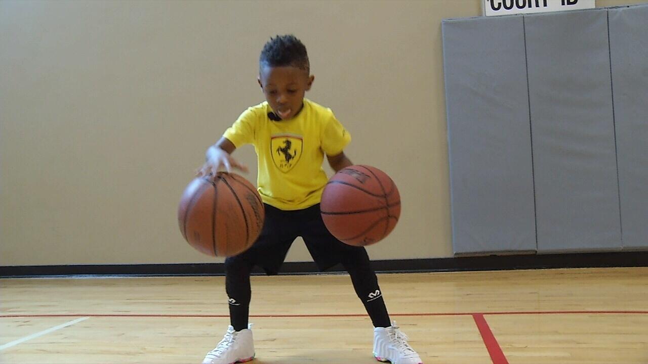 Enzo Lee: 5-Year Old Hoops Phenom