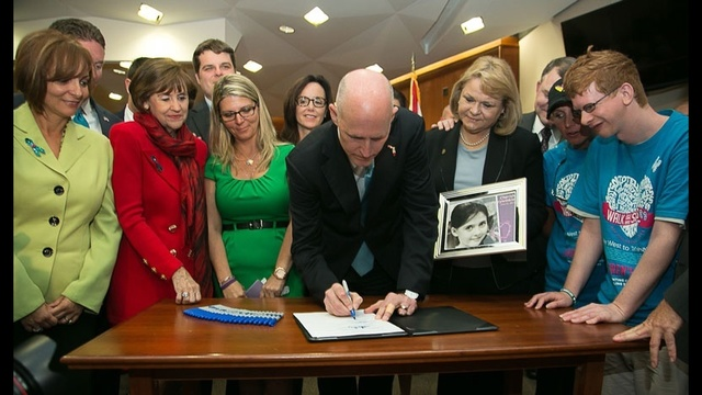 Gov. Scott signs sex offender bill