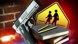 Guns found at 2 high schools Friday