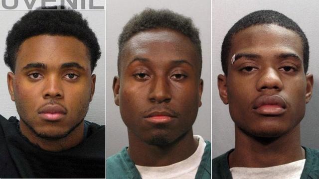 3 melee arrests