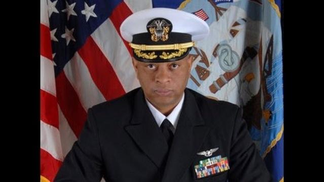 Navy Cmdr. Alphonso Doss