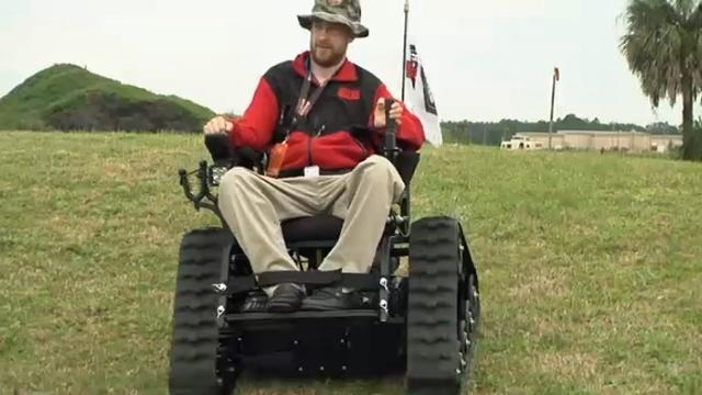 Army National Guard veteran Wesley Johnson