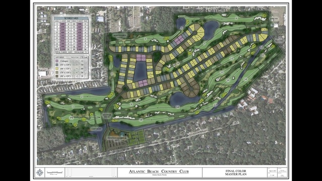 Atlantic Beach Country Club map