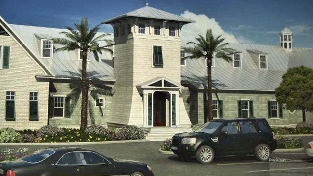 Atlantic Beach Country Club rendering