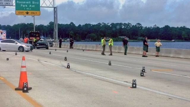 Buckman Bridge crash investigation