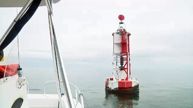 Buoy used to track sharks