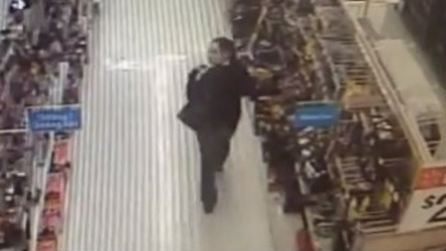 Burglar steals tools from Walmart to burglarize Verizon