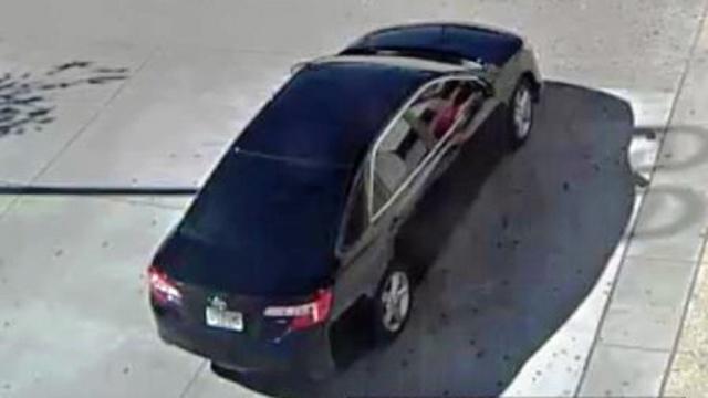 Car burglar's car