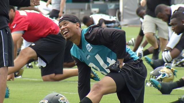 Jaguars receiver Cecil Shorts