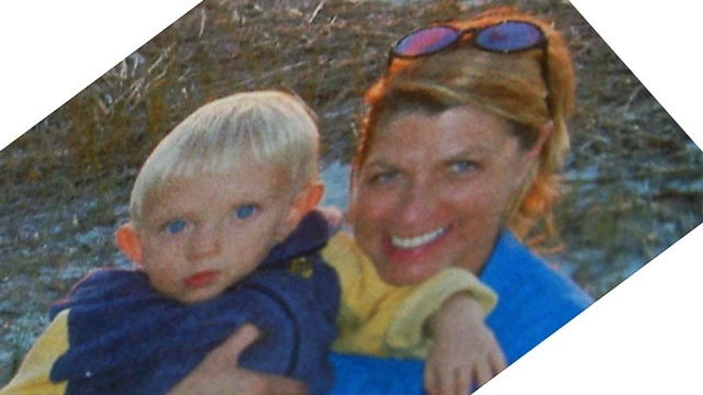 Dianne Hardenbergh and son