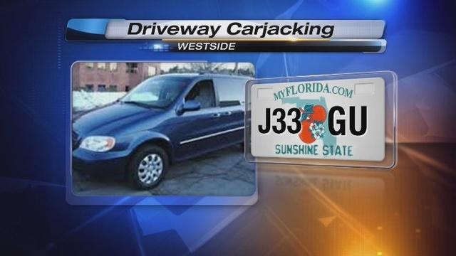 Driveway carjacking