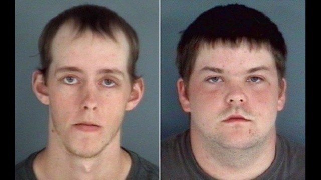 Dustin Gladden and Cory Portch