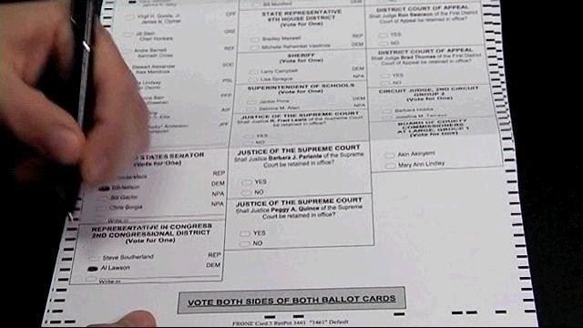 Voting - papaer ballot