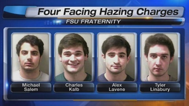 FSU fraternity brothers arrested