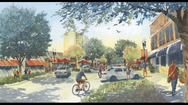 Five Points rendering