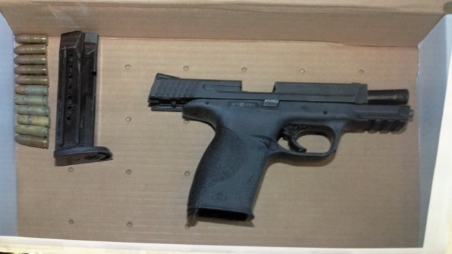 Gun in police-involved shooting