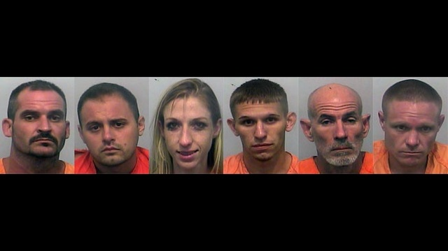 Lake City arrests for drugs