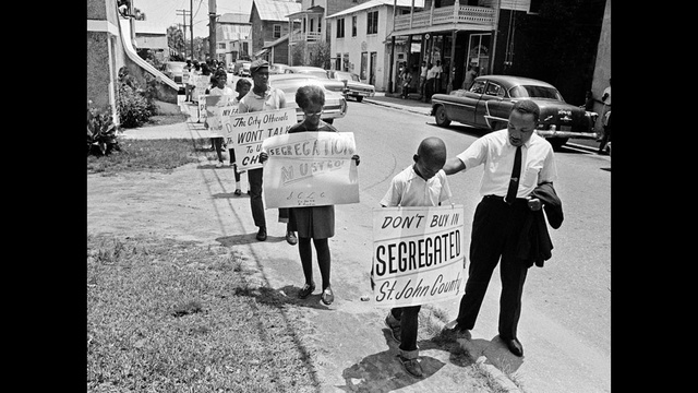 MLK at St. Augustine protest