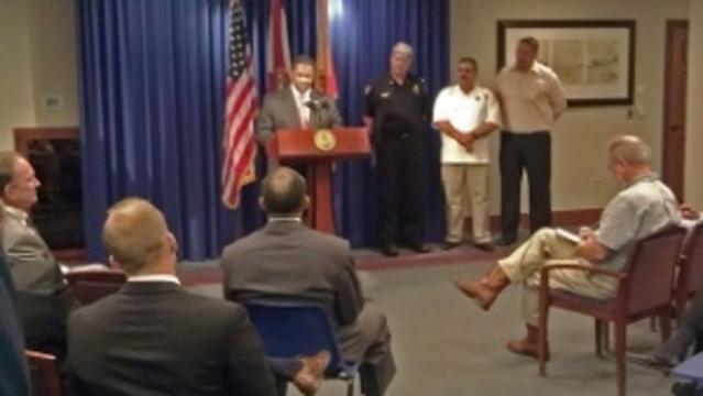 Mayor Brown announces pension deal