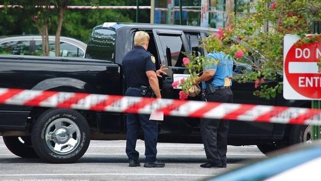 Suspicious deathMcDonald's murder pickup truck