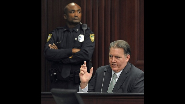 Michael Dunn testifies