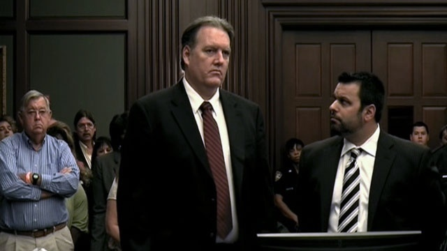 Michael Dunn as verdict is announced