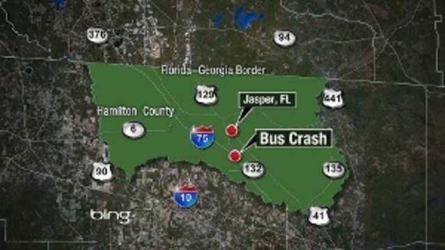 Greyhound accident map