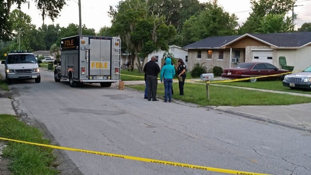Palatka homicide scene