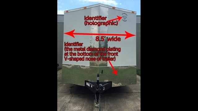 Pratt Guys stolen trailer (front view)