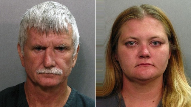 Richard Folwer and Jennifer Fowler mug shots