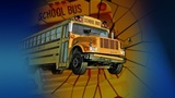 1 hurt in crash involving school bus