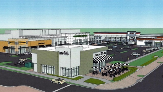 Shoppes on Riverside rendering