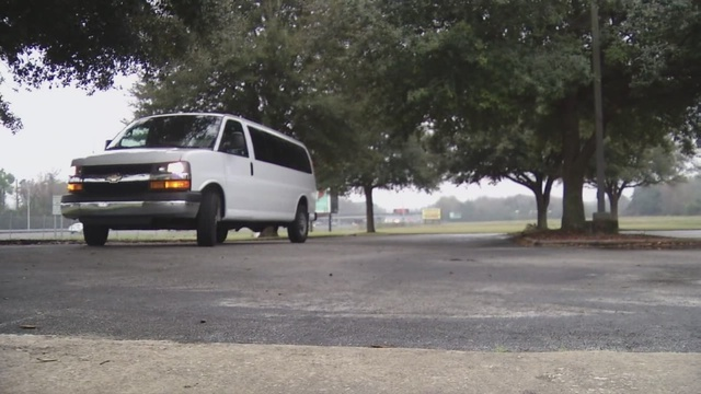 Stolen church van