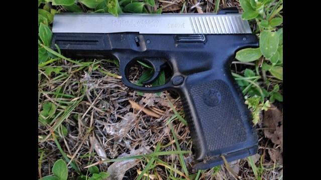 Thomas Johnson's gun