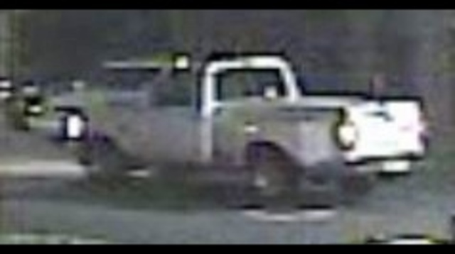 Truck in McDonald's robbery