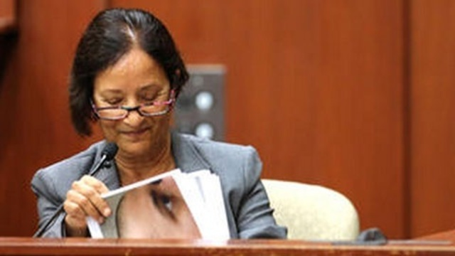 Valerie Rao at Zimmerman trial