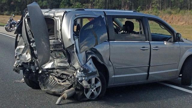 Van in JSO crash