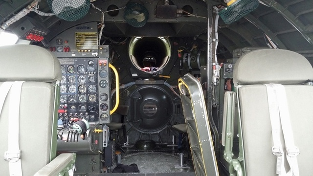 B-29 Superfortress cockpit