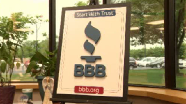 BBB sign