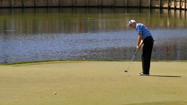 Jim Furyk second round at The Players