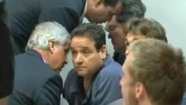Nelson Cuba and Robbie Freitas at bond hearing