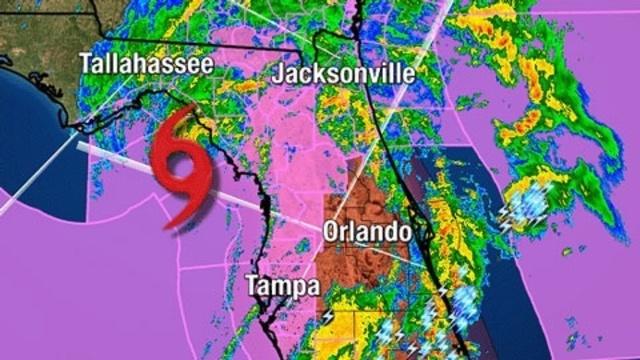 TS Andrea nears landfall