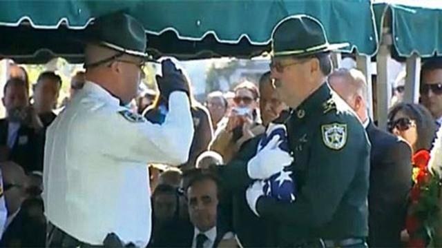 Deputy's funeral
