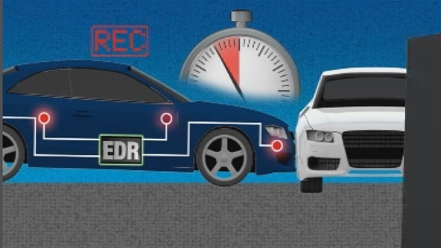 Event data recorder in your car