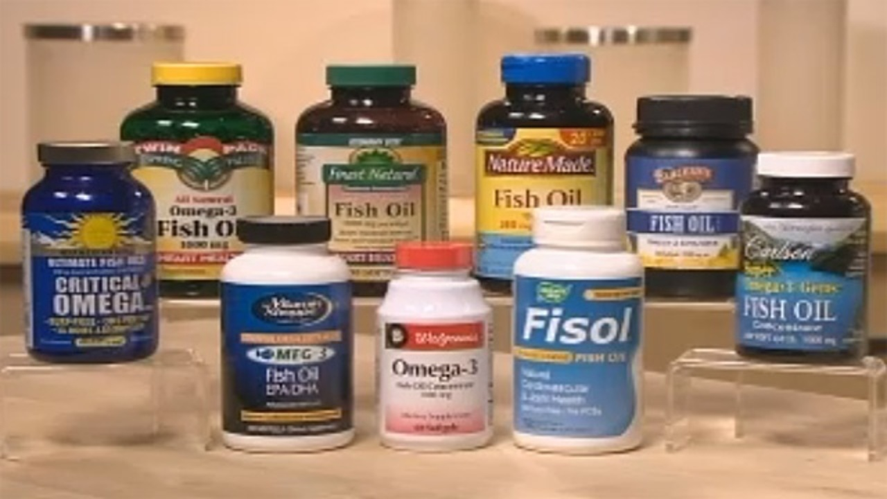 consumer reports rates fish oil supplements