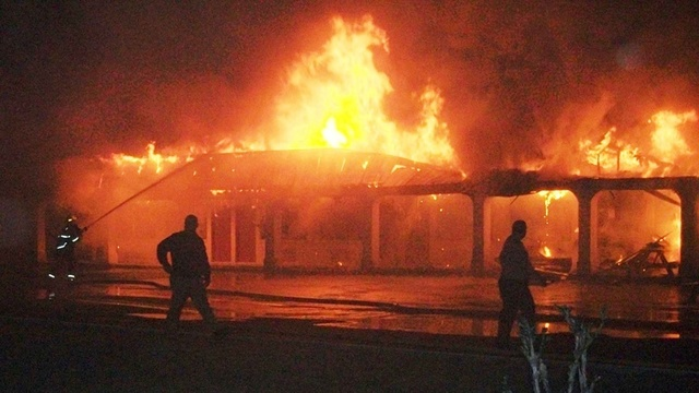 Folkston motel fire