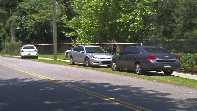 Forest Street homicide scene