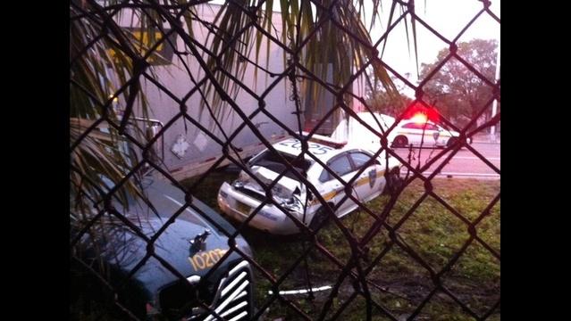 JSO patrol car crash pic