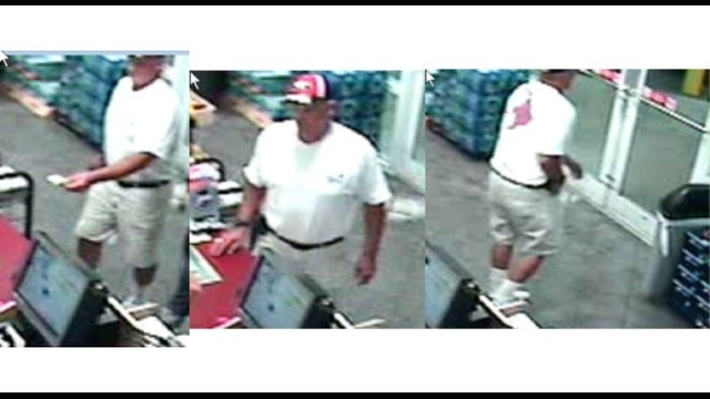 Jacksonville Beach counterfeit bills suspect