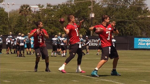 Jaguars quarterbacks